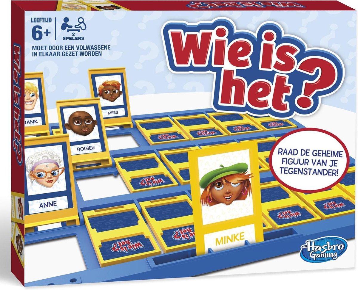 Onwijs bol.com | Wie Is Het? - Kinderspel | Games DM-18