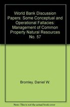 MANAGEMENT OF COMMON PROTERTY NATURAL RESOURCES