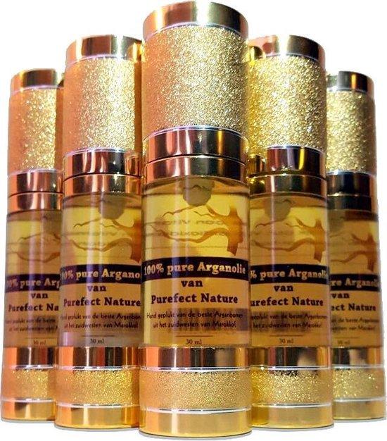 Argan olie, 100% puur en biologisch van Purefect Nature! De ideale huidverzorging voor mannen en vrouwen! Geschikt voor uw gezicht, lichaam, haar en nagels!