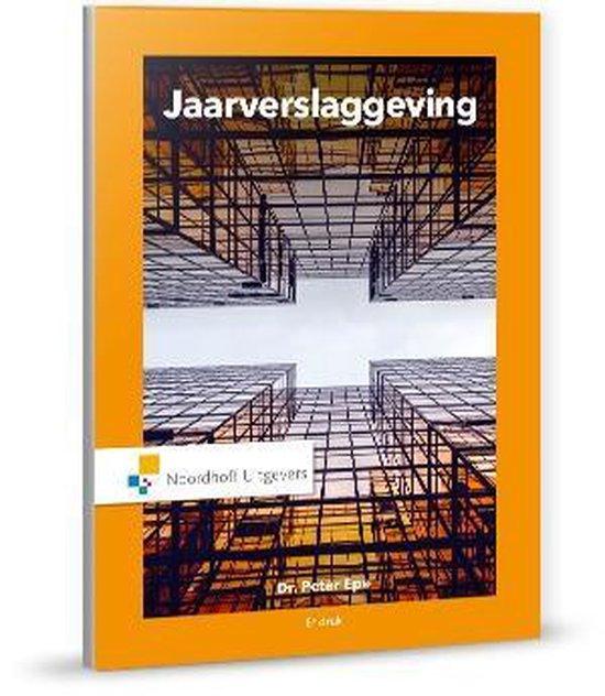 Boek cover Jaarverslaggeving / druk 8 van Peter Epe