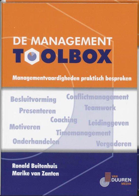 Cover van het boek 'De Management Toolbox'