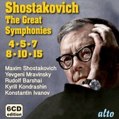 Shostakovich: Great Symphonies: 4,