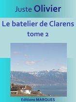 Boek cover Le batelier de Clarens van Juste Olivier