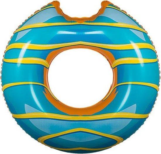Adventure Goods Blauwe Donut Zwemband