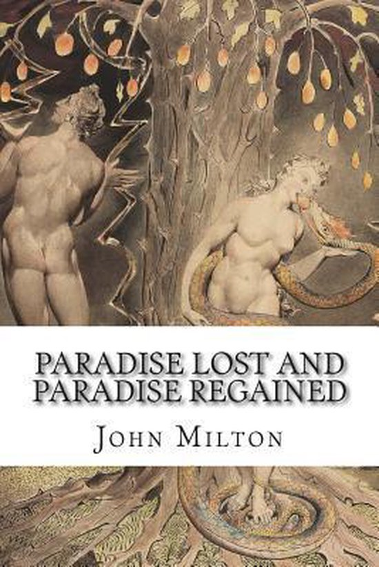 Boek cover Paradise Lost and Paradise Regained van Professor John Milton (Paperback)