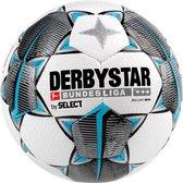 Derbystar Mini Voetbal Bundesliga Brillant Mini Wit zwart petrolblauw maat 0