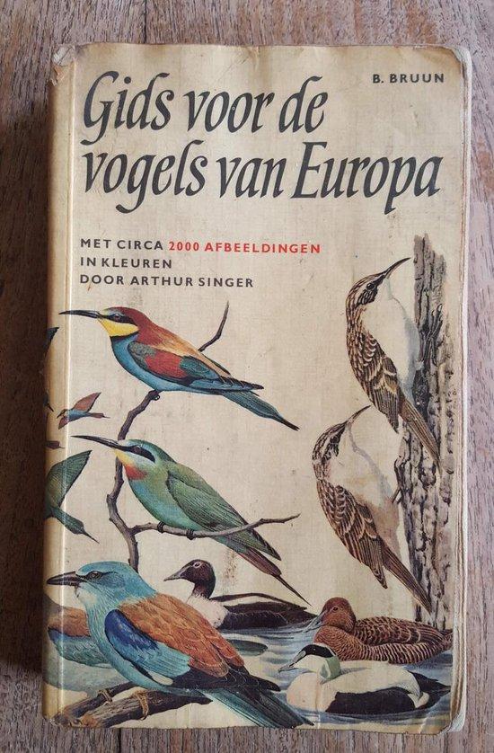Gids van de vogels van europa - Bruun  