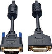 Tripp Lite P562-015 DVI kabel 4,57 m DVI-D Zwart