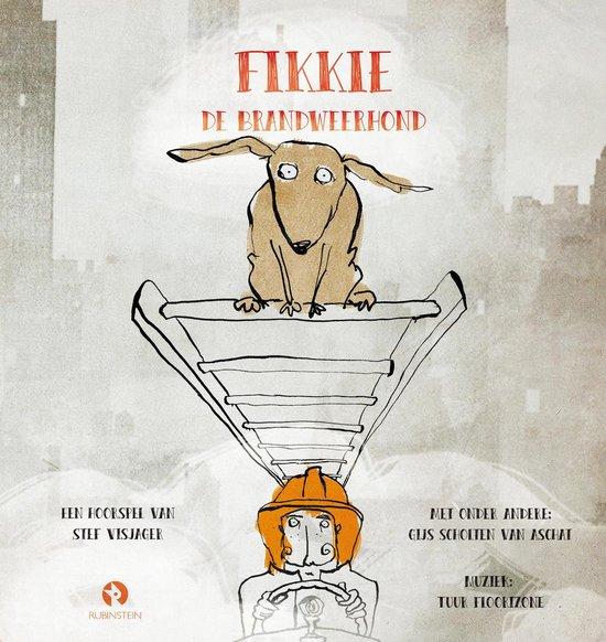 Fikkie De Brandweerhond (Boek En Cd