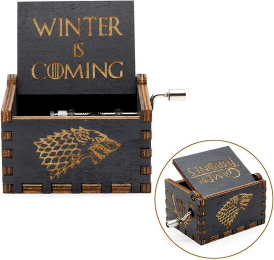 Game of Thrones Theme - Handgemaakt Muziekdoosje - Uniek  Houten Design