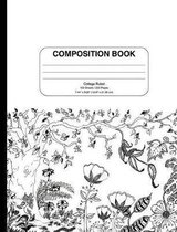 Composition Notebook Floral