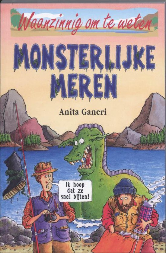 Monsterlijke meren - A. Ganeri | Readingchampions.org.uk