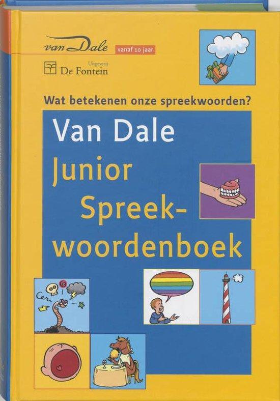 Boek cover Van Dale Junior Spreekwoordenboek van Wim Daniëls (Hardcover)