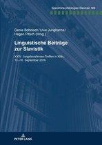 Linguistische Beiträge zur Slavistik