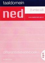 Taaldomein / 3 vmbo-LB / deel Differentiatiewerkboek-i + cd-rom