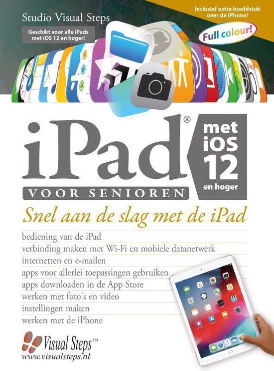 Afbeelding van iPad voor senioren met iOS 12 en hoger