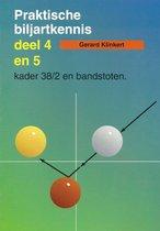 Praktische Biljartkennis. Deel 4+5 : Kader 38/2 en bandstoten