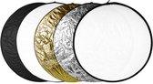 5in1 Reflectiescherm ø 80 cm / Opvouwbare Reflector