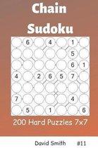 Chain Sudoku - 200 Hard Puzzles 7x7 Vol.11