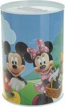 Disney Spaarpot Mickey Mouse & Donald Duck 15 Cm Blik