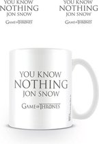 Game of Thrones You Know Nothing Jon Snow - Mok