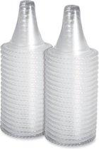 Merkloos - Navulset Beschermkapjes Voor Braun Thermoscan