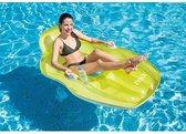 Intex 56805EU Chill 'N Float Luchtmatras 163x104 cm Assorti