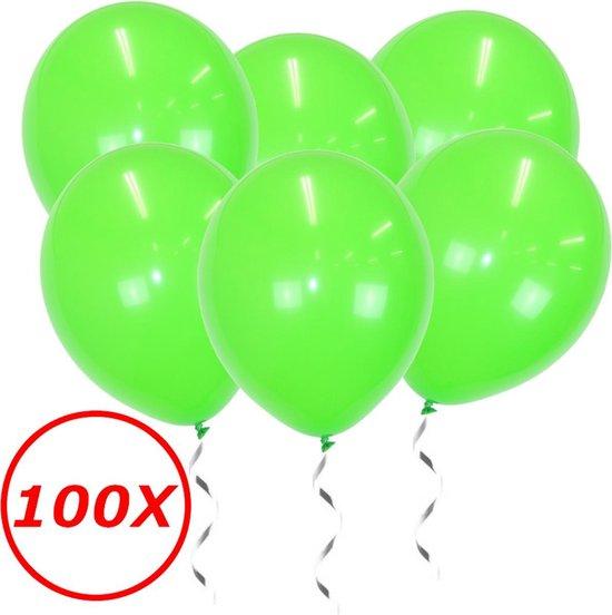 Licht Groene Ballonnen Verjaardag Versiering Groene Helium Ballonnen Feest Versiering Jungle Versiering - 100 Stuks