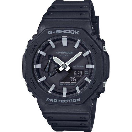 Casio G-Shock GA-2100-1AER Horloge - Kunststof - Zwart - Ø 45 mm