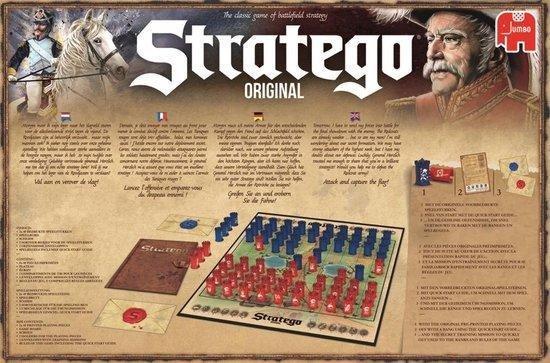 Thumbnail van een extra afbeelding van het spel Stratego Original - Bordspel