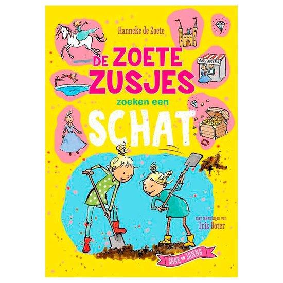 Boek cover Boek Zoete Zusje Zoeken een Schat van Hanneke de Zoete (Hardcover)