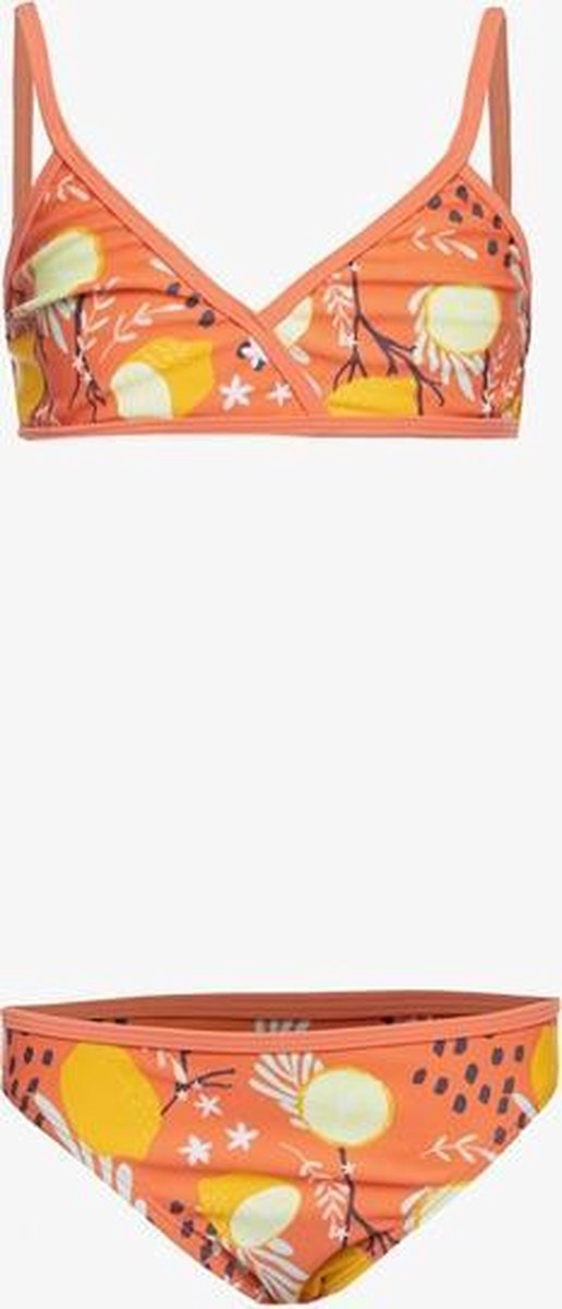 Osaga meisjes bikini met print - Oranje - Maat 164