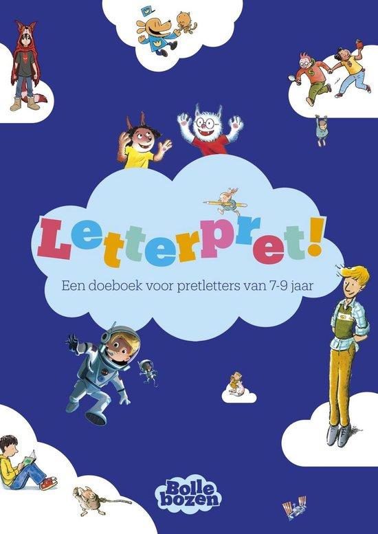 Boek cover Letterpret! – Een doeboek voor pretletters van 7-9 jaar van Diverse auteurs (Paperback)