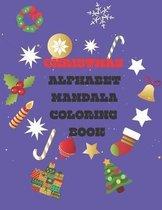 Christmas Alphabet Coloring Book