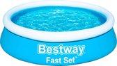 Bestway Kinderzwembad -  Ø 183 cm - Model 57392 - Opblaasbare Rand