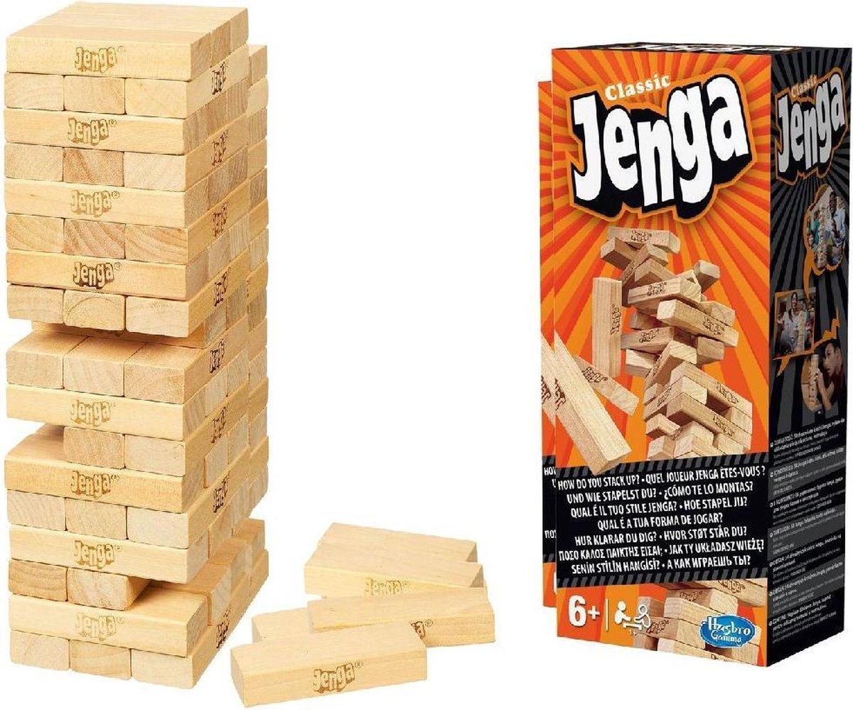 Jenga Classic - Actiespel