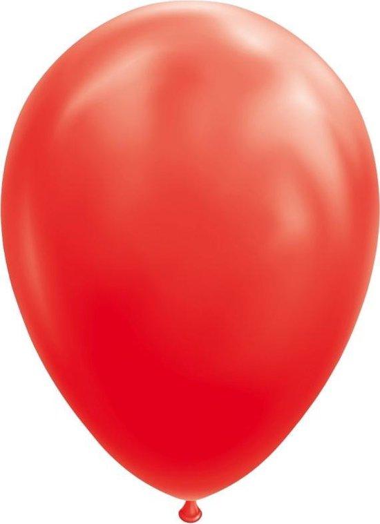 Wefiesta Ballonnen 30 Cm Latex Rood 25 Stuks
