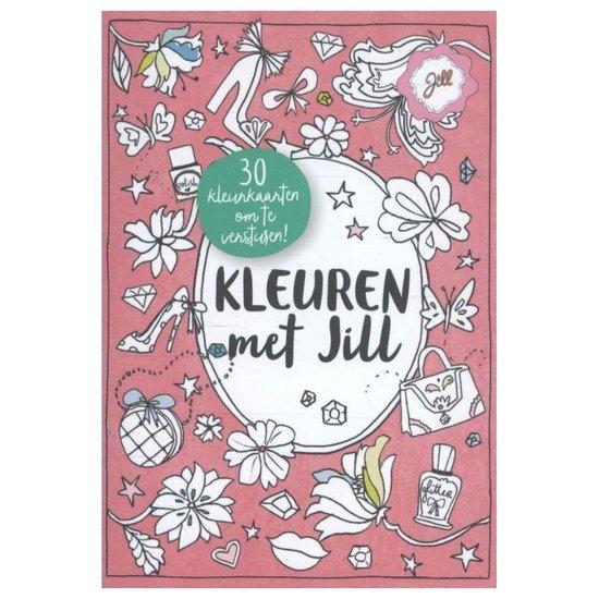Boek cover Jill  -   Kleuren met Jill van Jill Schirnhofer (Paperback)