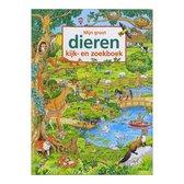 Boek cover Deltas Mijn Groot Dieren Kijk- En Zoekboek van Caryad (Paperback)