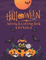 Halloween Activity & Coloring Book For Kids