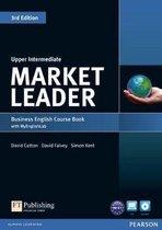 Boek cover Market Leader 3ed - Upp-Int coursebook + dvd-rom+MyEnglishLa van David Cotton