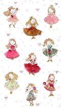 Poster Cute Princesses -Hanneke de Jager - Multikleur - 80 x 140 cm - Fotoprint - art print - wanddecoratie - print