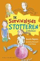 Boek cover De survivalgids stotteren van Annick Beyers