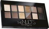 Maybelline The Nudes Palette - 12 Nude - Bruin tinten - Oogschaduw palet