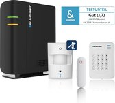 Blaupunkt Alarmsysteem Draadloos Q-PRO 6600| Draadloos Alarmsysteem| Set voor beveiliging