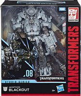 Transformers Generations Studio Series Leader Blackout - Actiefiguur