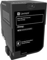 Lexmark 84C2HKE tonercartridge Origineel Zwart 1 stuk(s)
