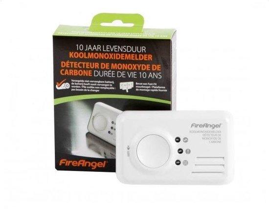 FireAngel Koolmonoxidemelder CO-9X-10 - 10 jaar lithium accu