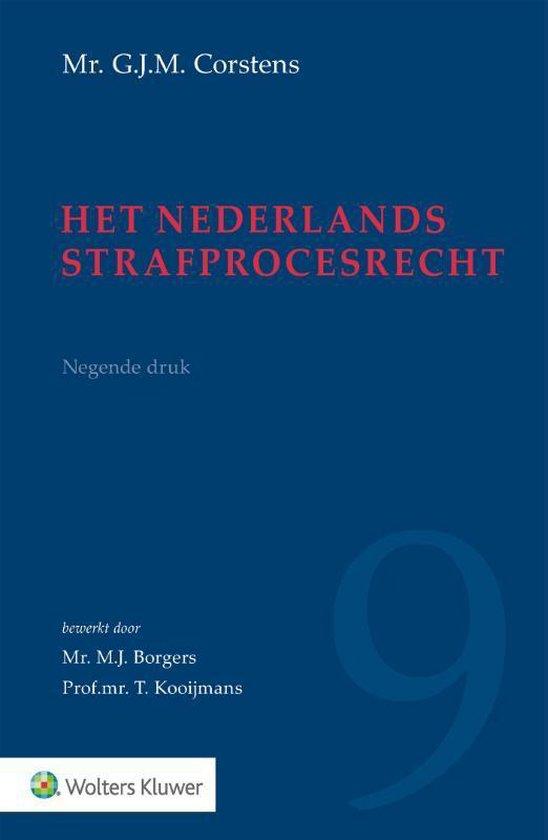 Boek cover Het Nederlands strafprocesrecht van G.J.M. Corstens (Hardcover)
