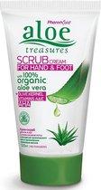 Pharmaid Aloe Treasures Hand Voet Scrub | 100% organic Aloe Vera 120ml | Natuurlijk Goed